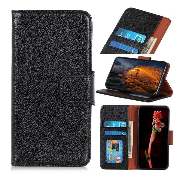 Samsung Galaxy A70 - Étui William effet cuir rétro