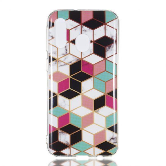 Samsung Galaxy A40 - Coque motifs géométriques
