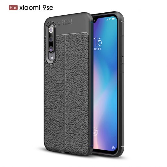 Xiaomi Mi 9 SE - Coque gel finition simili cuir