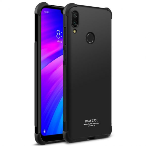 Xiaomi Redmi 7 - Coque class protect - Noir métal