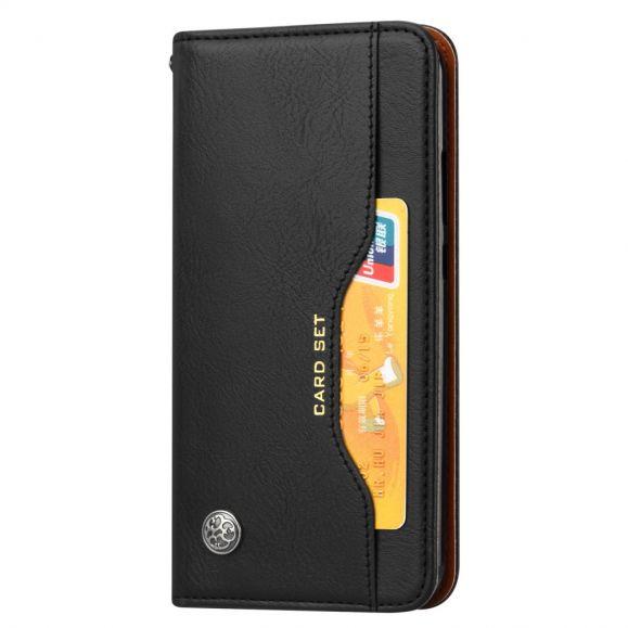 Xiaomi Redmi 7 - Étui cuir avec support et porte cartes