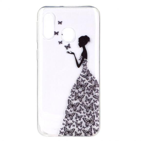 Samsung Galaxy A40 - Coque transparente motif fairy