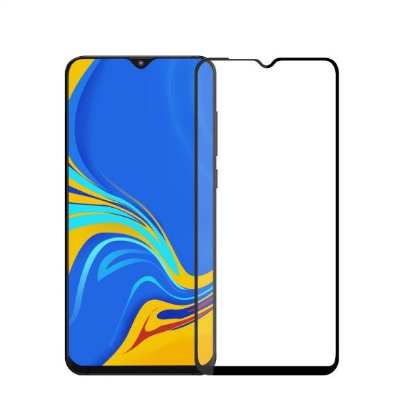 Samsung Galaxy A10 - Protection d'écran en verre trempé full size - Noir