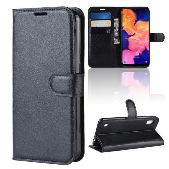 Samsung Galaxy A10 - Étui style cuir porte cartes