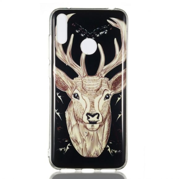 Huawei Y7 2019 - Coque luminous Wapiti