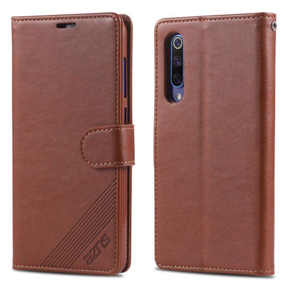 Xiaomi Mi 9 SE - Étui AZNS simili cuir porte cartes