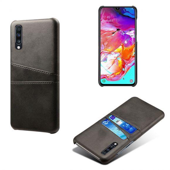 Samsung Galaxy A70 - Coque Mélodie effet cuir porte cartes