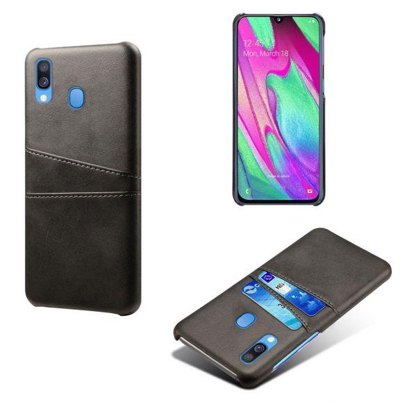 Samsung Galaxy A40 - Coque Mélodie effet cuir porte cartes