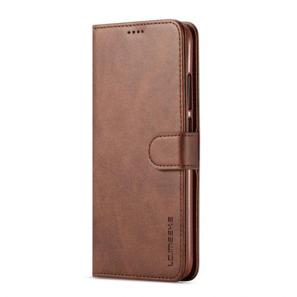 Xiaomi Redmi 7 - Étui Tommy cuir style portefeuille