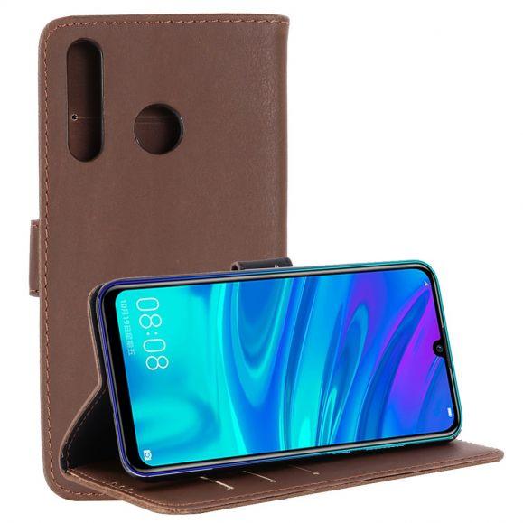 Huawei P Smart Plus 2019 - Étui Augustin simili cuir rétro