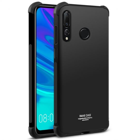 Huawei P Smart Plus 2019 - Coque class protect - Noir métal
