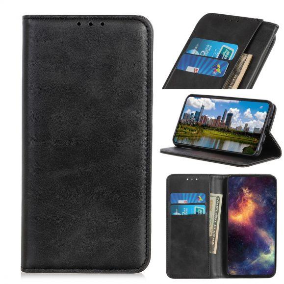 Nokia 1 Plus - Étui Sacha imitation cuir
