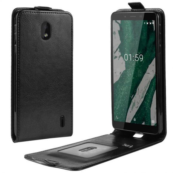 Nokia 1 Plus - Étui simili cuir avec rabat verticale