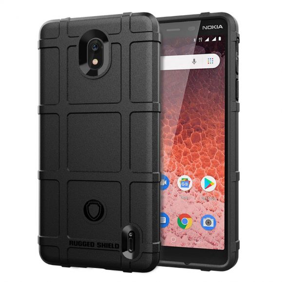Nokia 1 Plus - Coque rugged shield antichoc