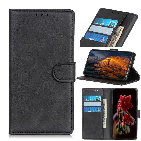 Nokia 1 Plus - Étui Marius effet cuir mat