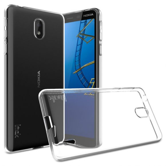 Nokia 1 Plus - Coque transparente ultra souple