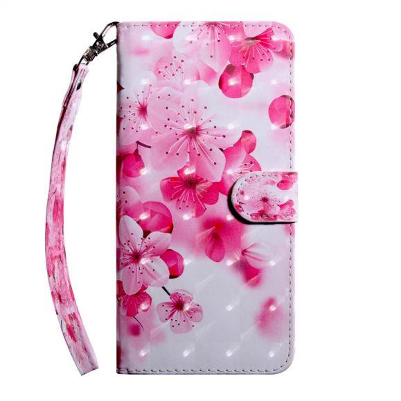 Sony Xperia 10 Plus - Étui avec rabat flowers
