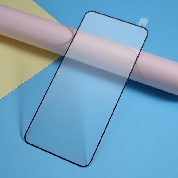 OnePlus 7 Pro - Protection d'écran en verre trempé full size - Noir