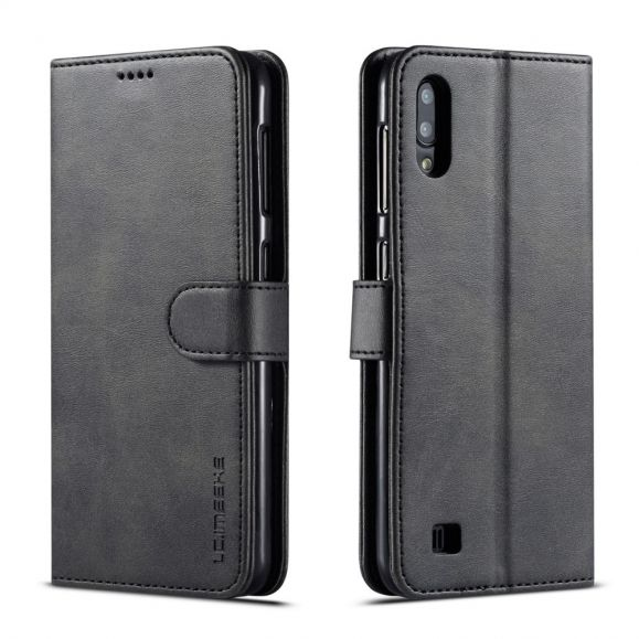 Samsung Galaxy A10 - Étui Tommy cuir style portefeuille