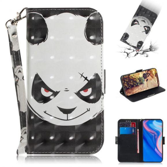 Huawei P Smart Z - Étui à lanière Panda maléfique