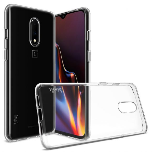 OnePlus 7 - Coque transparente ultra souple