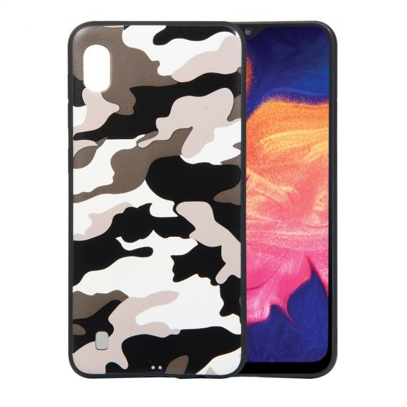 Samsung Galaxy A10 - Coque gel camouflage militaire