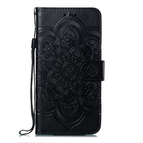 Xiaomi Redmi Note 7 - Étui folio avec lanière mandala