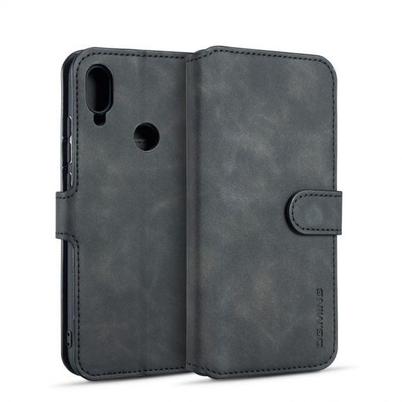 Huawei Y6 2019 - Housse DG MING effet cuir