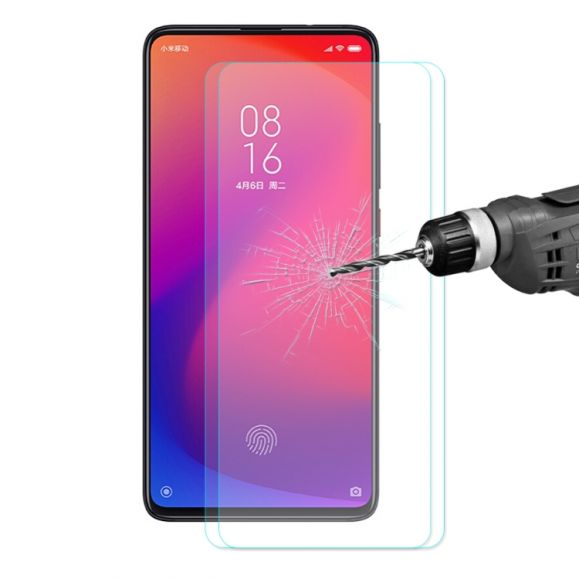Xiaomi Mi 9T / Mi 9T Pro - Pack de 2 films en verre trempé