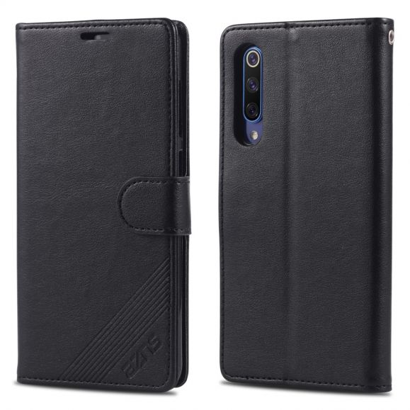 Xiaomi Mi 9 - Étui AZNS simili cuir