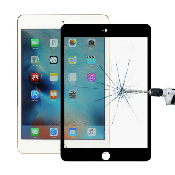 iPad Mini 2019 - Protection d'écran en verre trempé full size - Noir