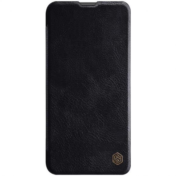 Honor 20 - Housse NILLKIN Qin revêtement cuir - Noir