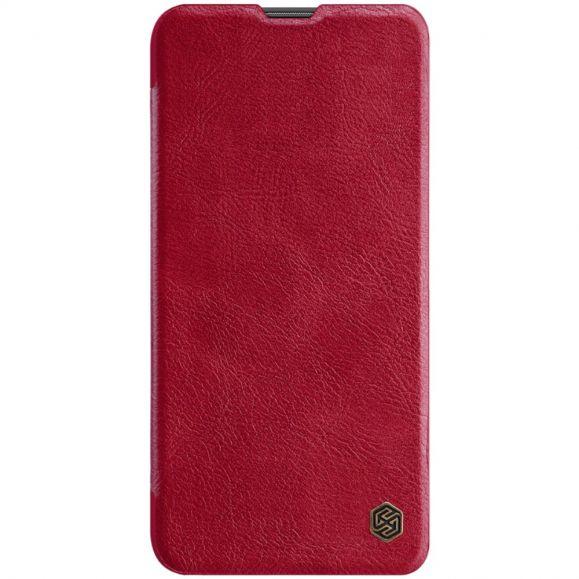 Honor 20 - Housse NILLKIN Qin revêtement cuir - Rouge