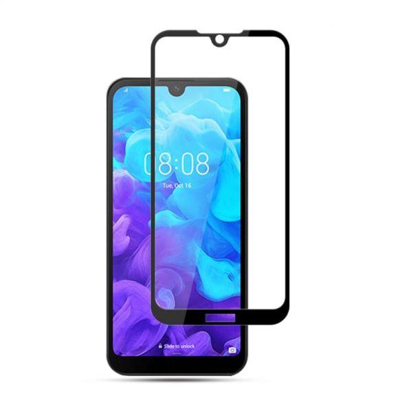 Huawei Y5 2019 - Protection d'écran en verre trempé full size - Noir