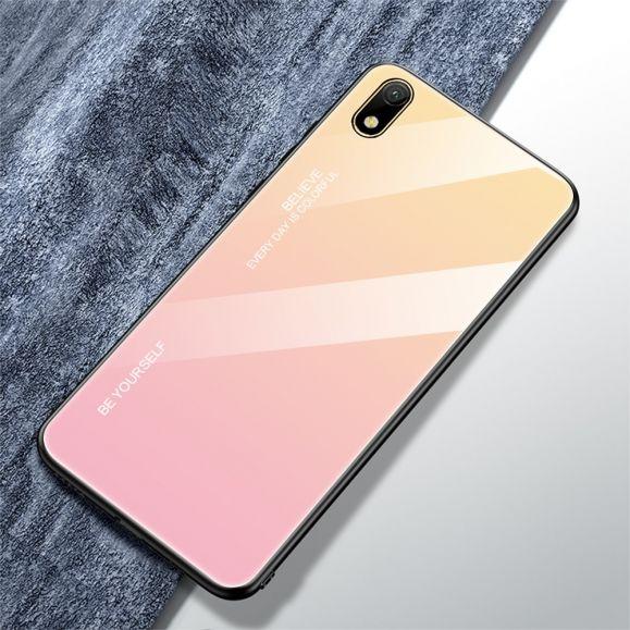 Huawei Y5 2019 - Coque dégradé de couleurs