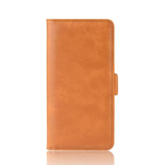 Xiaomi Redmi Note 7 - Étui portefeuille revêtement cuir mat