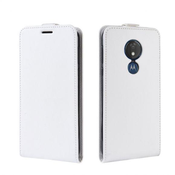 Motorola Moto G7 Power - Étui simili cuir avec rabat verticale