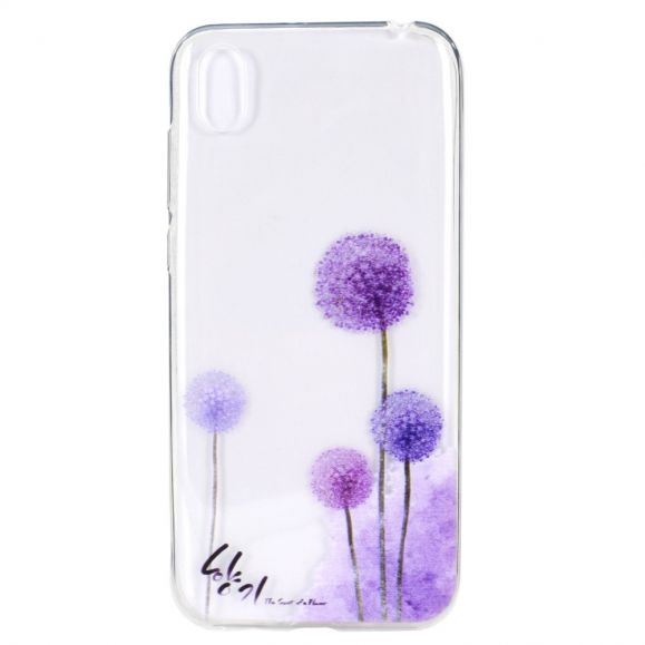 Huawei Y5 2019 - Coque Pissenlits Violets