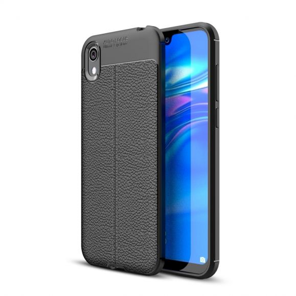 Huawei Y5 2019 - Coque gel finition simili cuir