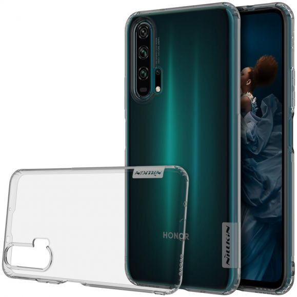Honor 20 Pro - Coque en gel nature transparent gris