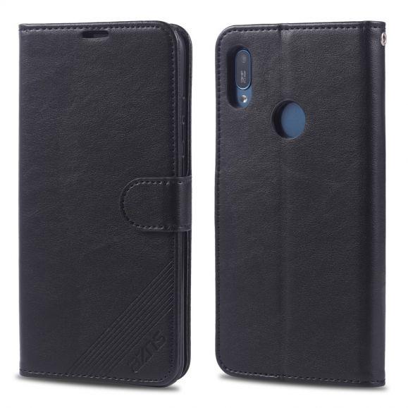 Huawei Y6 2019 - Étui AZNS simili cuir