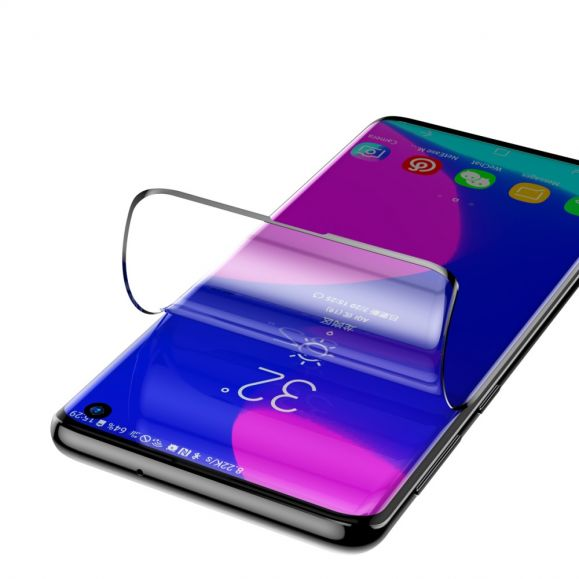 Samsung Galaxy S10 - 2 films protecteurs incurvés