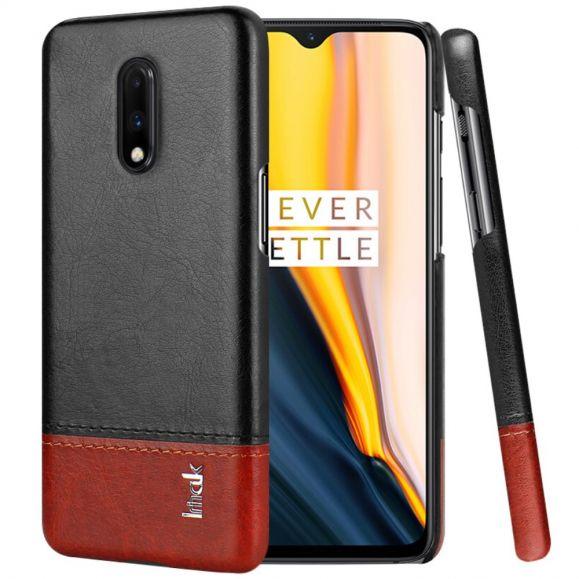 OnePlus 7- Coque imak bicolore imitation cuir