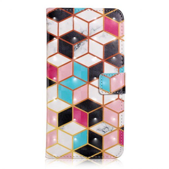 Samsung Galaxy A20e - Housse design géométrique