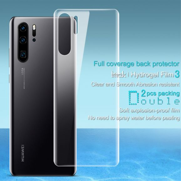 Huawei P30 Pro - 2 films de protection arrière en hydrogel