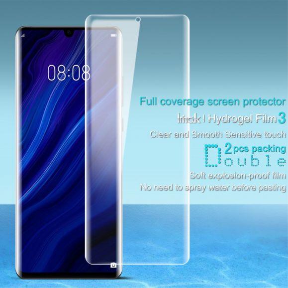 Huawei P30 Pro - 2 films protecteur d'écran full protection en hydrogel