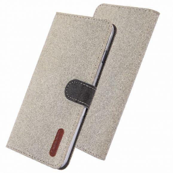 Samsung Galaxy S10 - Étui Évan revêtement tissu