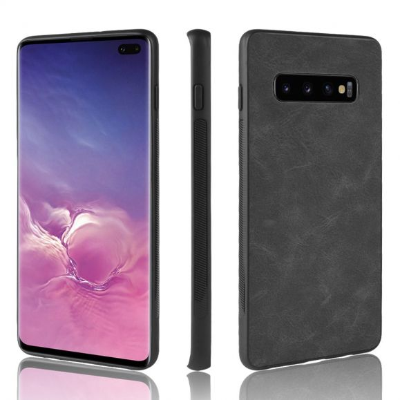 Samsung Galaxy S10 - Coque Faustine style cuir
