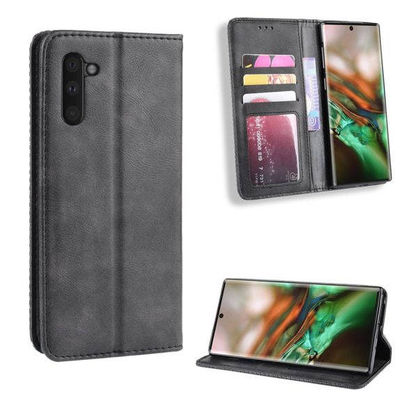 Samsung Galaxy Note 10 - Housse Le Cirénius style cuir