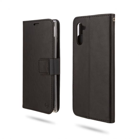 Samsung Galaxy Note 10 - Housse portefeuille imitation cuir